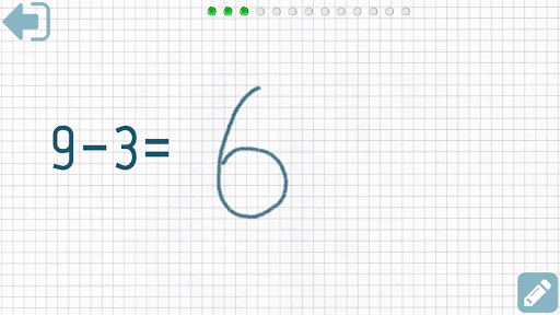 Aplicații First grade Math - Subtraction pentru Android screenshot