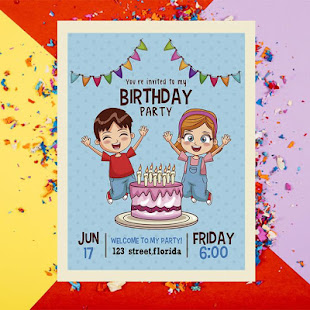 Birthday Invitation Card Maker For Pc Windows 7 8 10