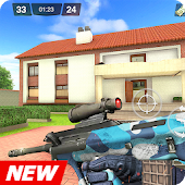 Critical Battle Strike: Online FPS Arena Shooter