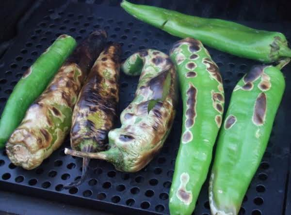 Roasted New Mexico Hatch Green Chili