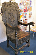 Photo: The famous Headmaster's Chair