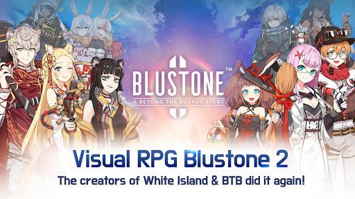 Blustone 2 - Anime Battle and ARPG Clicker Game  captures d'écran 2