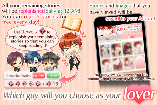 Princess Closet : Otome games free dating sim 1.12.2 DreamHackers 5
