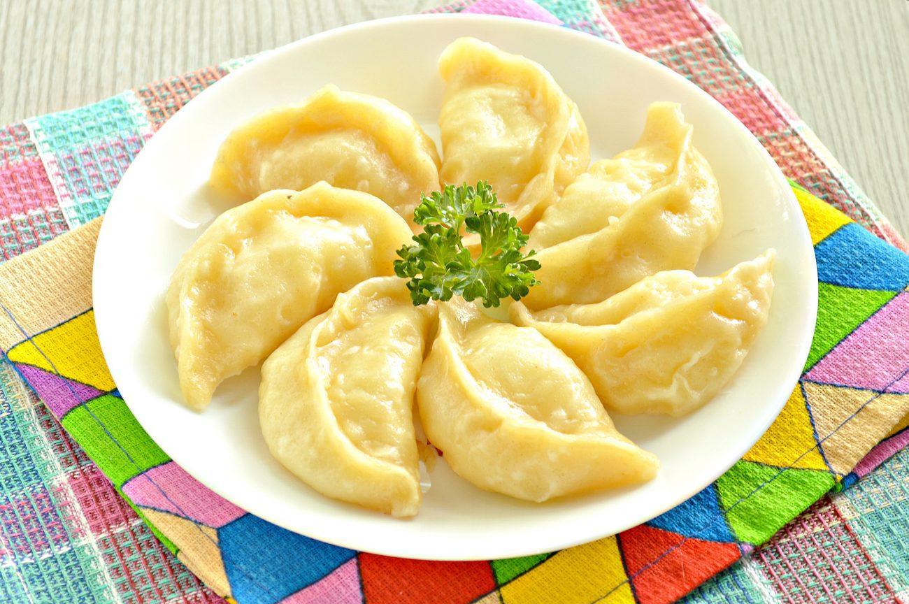 Вареники с картофелем на пару рецепт с фото пошагово