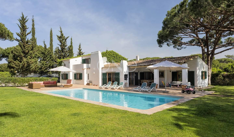Maison avec piscine en bord de mer Loulé