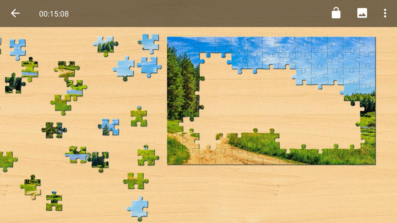 Landscapes Jigsaw Puzzles - Android Apps on Google Play