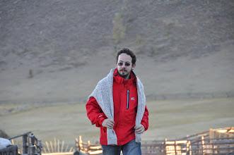 Photo: J'ai retrouvé mon pull ! (oublié au bord du Baikal, oops)