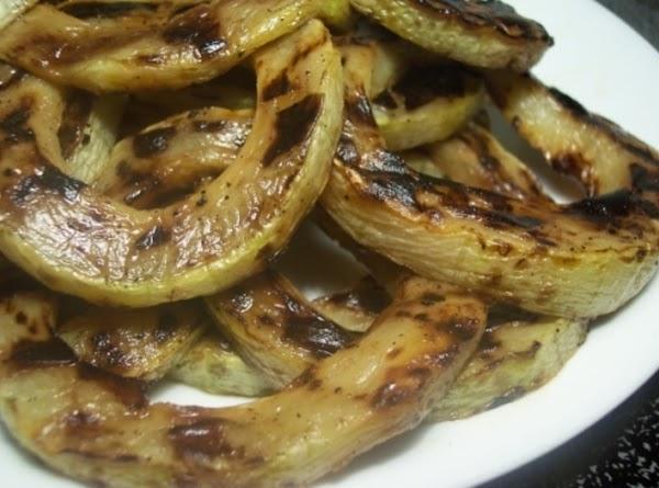 Grilled Zucchini Rings Recipe
