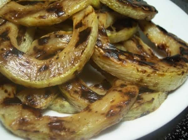 Grilled Zucchini Rings