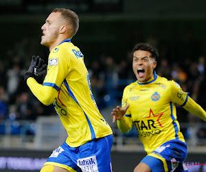 Din Sula, de eerste scorende spits van Waasland-Beveren dit seizoen en dat vierde hij op een speciale manier