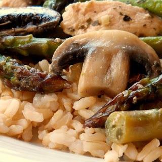 Chicken Breast Asparagus Mushrooms Recipes