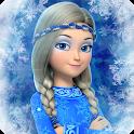 Snow Queen: Frozen Fun Run. Endless Runner Games icon