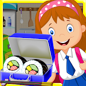 Sushi maker Lunch Box - cusine cooking game