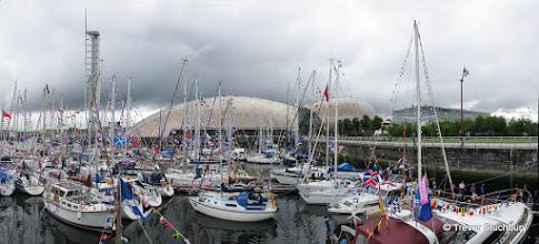 Photo: Glasgow 2014. Flotilla at Glasgow Science Centre