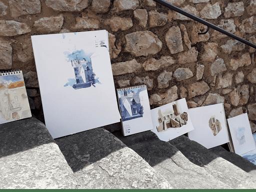 jeanne PAPA aquarelle _ STAGE NEMOURS 00