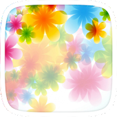 Colourful Flowers Theme
