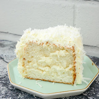 Coconut Angel Food Cake.