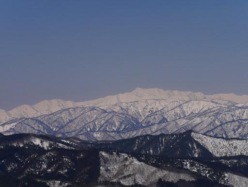 別山と三ノ峰・二ノ峰など
