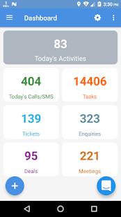 Enjay Latitude SuiteCRM Mobile - náhled