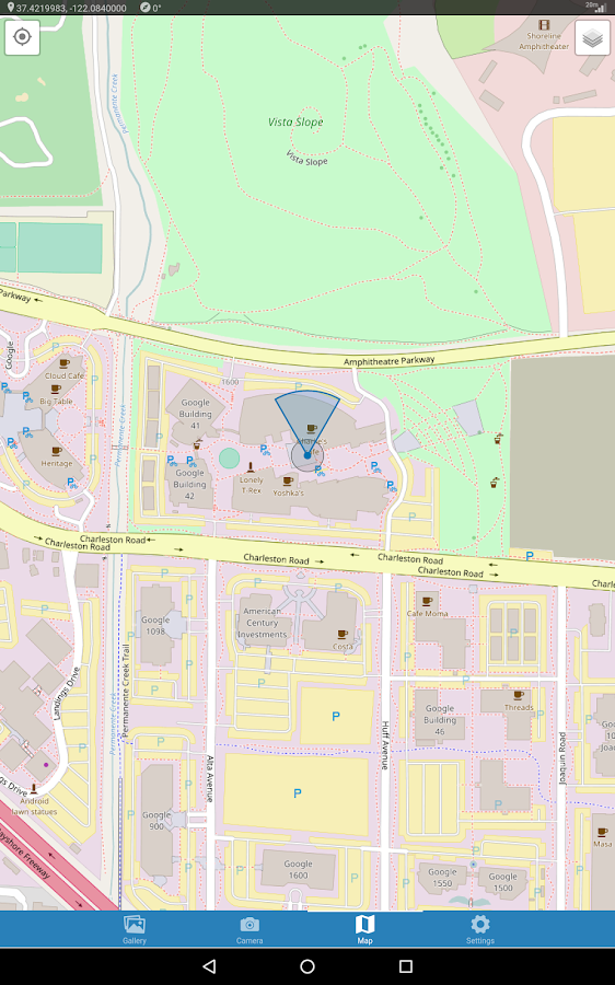GeoView- screenshot