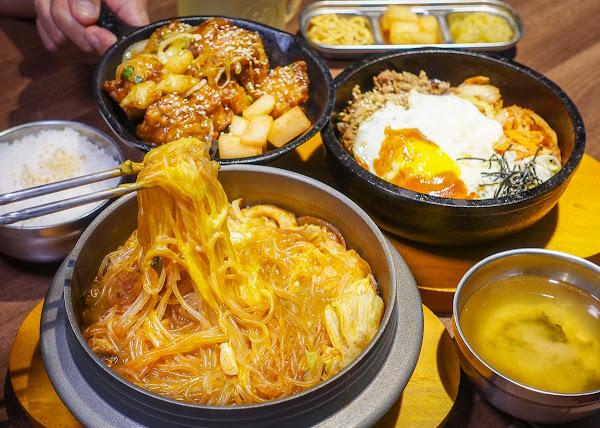超平價韓式料理!百元初享韓式豆腐鍋石鍋拌飯套餐-韓石食堂(林森店)