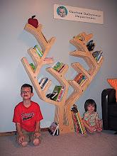 Photo: Bea's Tree Bookcase