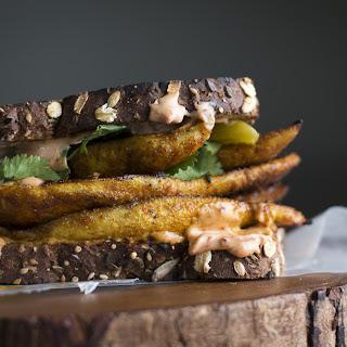 Chicken Shawarma Sandwich.