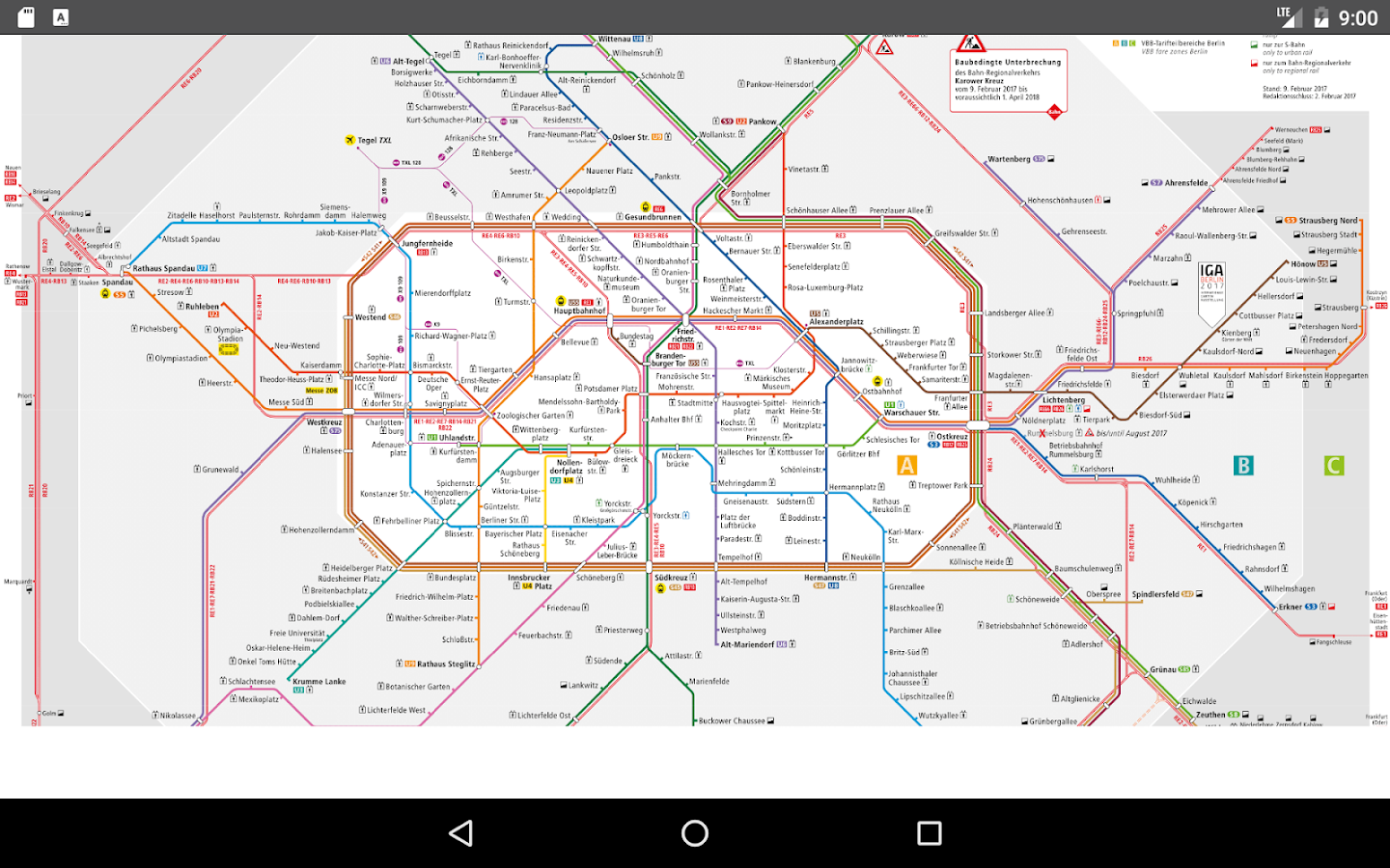 Berlin Subway Metro Android Apps On Google Play - Berlin map 2017