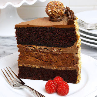Chocolate Nutella Cheesecake Cake Recipe