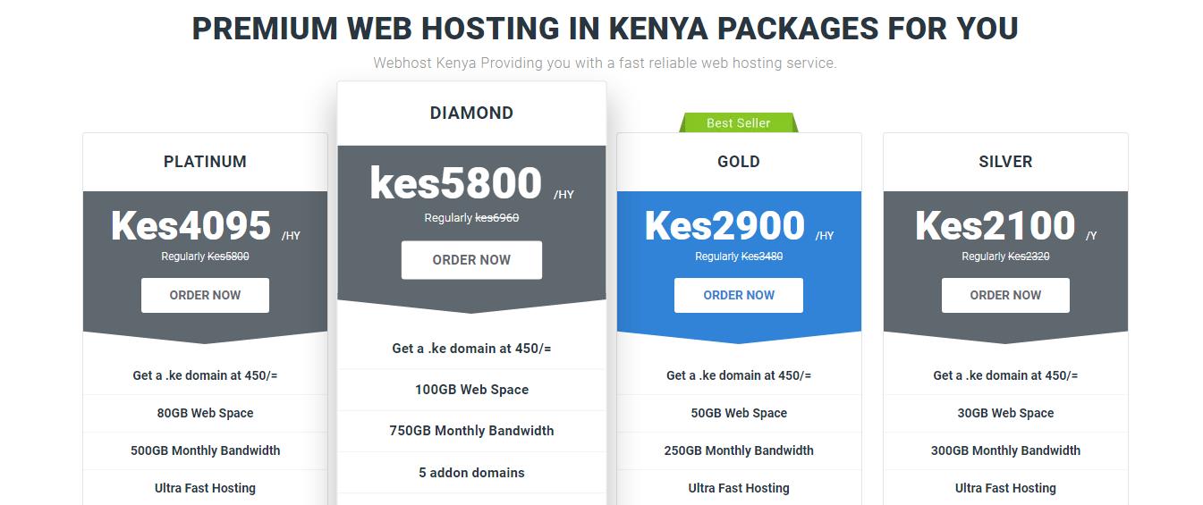 Webhost Kenya Cheap web hosting