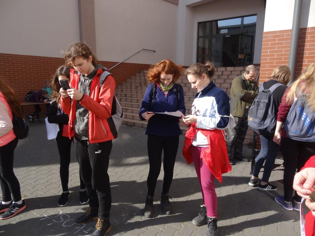 Marsz na orientację w Andrychowie