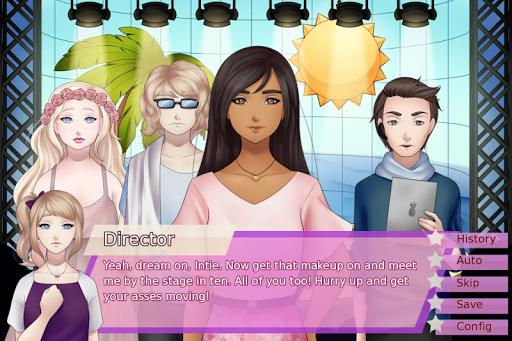 Télécharger Gratuit Code Triche Alice in Stardom - Free Idol Visual Novel MOD APK 2