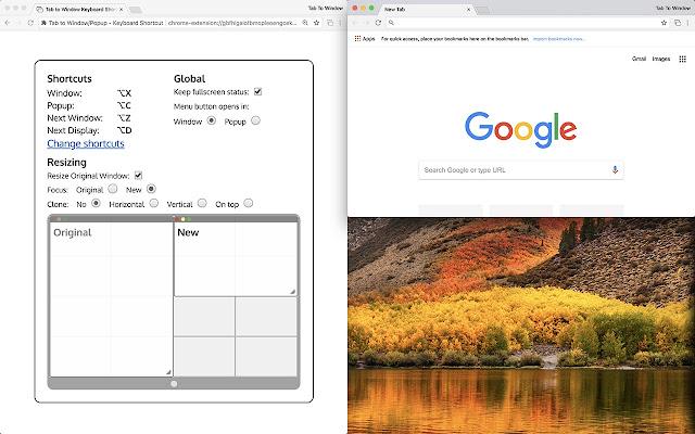 Tab to Window/Popup - Keyboard Shortcut