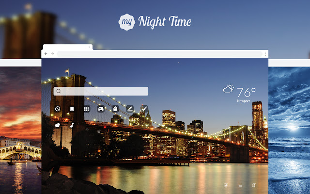 My Night Time HD Wallpapers New Tab