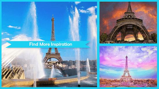 Krásné pařížské tapety - náhled