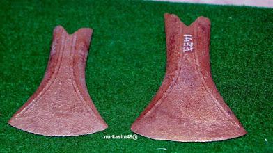 Photo: Kapak corong, terbuat dari perunggu. Koleksi Museum La Galigo, Makassar. http://nurkasim49.blogspot.com