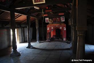 Photo: Padmavati Devi temple on Rajgad