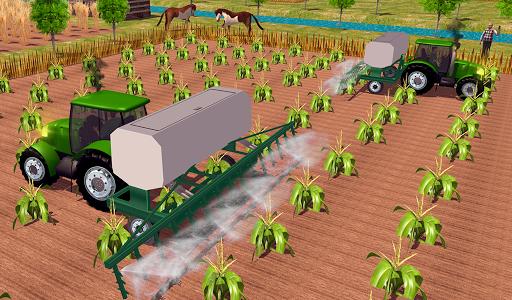 Farming sim 2018 - Tractor driving simulator apkdebit screenshots 12