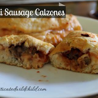 Mini Sausage Calzones.