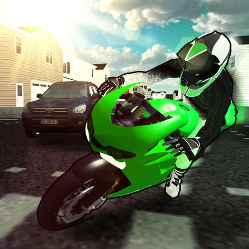バイク:スピードレーサー3D 賽車遊戲 App LOGO-硬是要APP