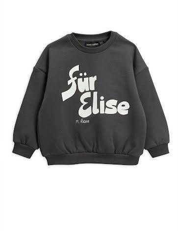 Mini Rodini Fur Elise Sweatshirt Grey