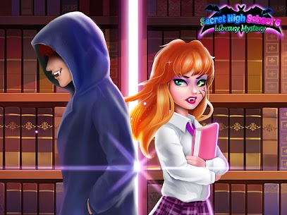 Secret High School 6 – Library Mystery 1