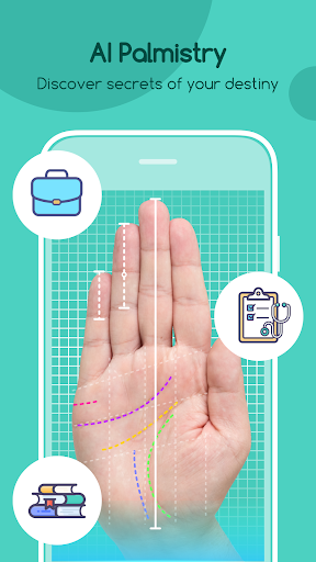 Life Palmistry - AI Palm &  Gender & Prediction 1.9.0 screenshots 1
