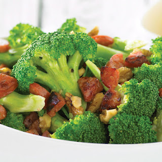 Broccoli with Chorizo and Walnuts Recipe