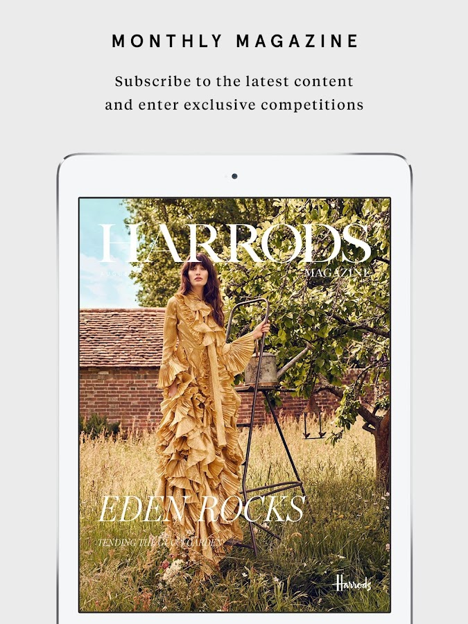 Harrods- screenshot