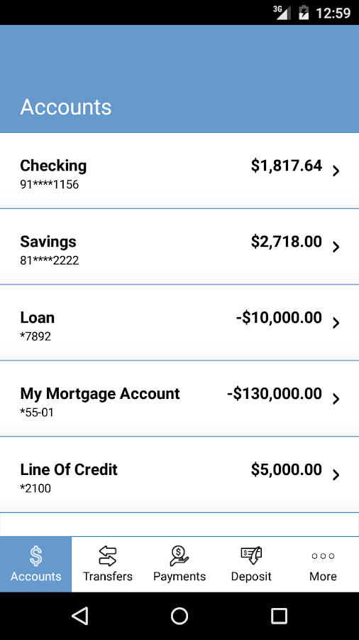 Bossier Federal Credit Union- screenshot