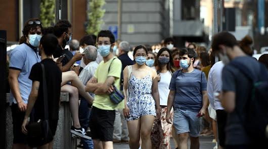 Convocan una manifestación contra las mascarillas y piden llevarla puesta