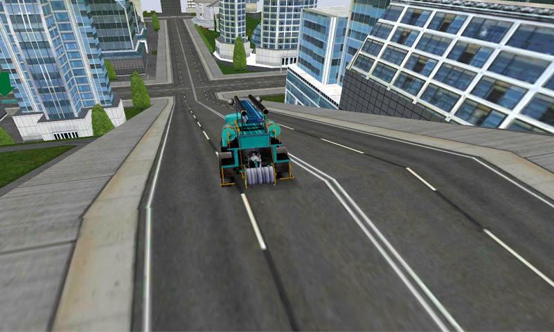 Скриншот Miami Fire Truck Simulator