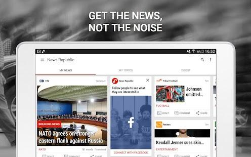 News Republic – Breaking news- screenshot thumbnail