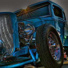 RAT ROD - HDR by Udo Weber - Transportation Automobiles